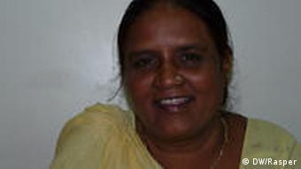 Geeta a community organizer for the NGO SEWA Bharat
