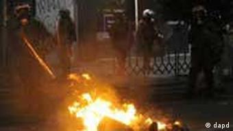 یونان، بار دیگر صحنه ناآرامیهای ناشی از بحران اقتصادی