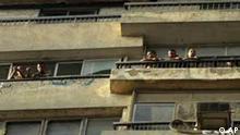 Zerstörte israelische Botschaft in Kairo