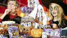 Halloween Schokolade von Milka