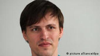 Andreas Baum - Spitzenkandidat der Piratenpartei zur Abgeordnetenhauswahl von Berlin (Foto: dpa)