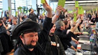 Piratenpartei Deutschland Parteitag 2010 Berlin Wahl 2011