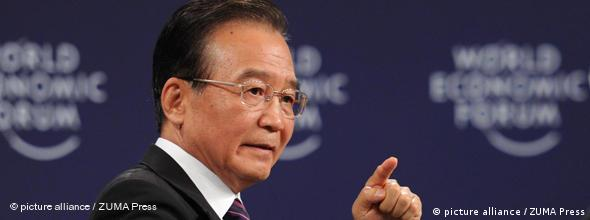 No FLASH Summer Davos Forum Wen Jiabao China Wirtschaft
