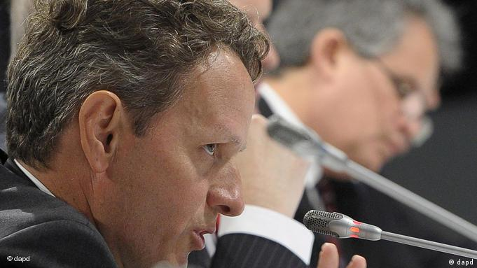 Timothy Geithner in Wroclaw (Foto: dapd)