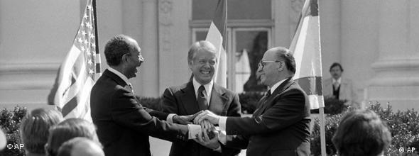 NO FLASH Frieden zwischen Israel und Ägypten