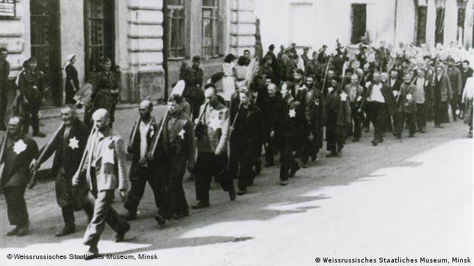Jewish ghetto in minsk