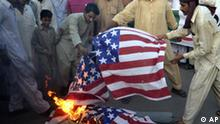 Pakistan USA anti-amerikanische Demonstration Multan
