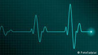 Symbolbild Herzschlag Herz EKG