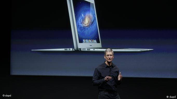 Apple CEO Tim Cook verspricht Transparenz bei Zulieferern. (Foto: AP Photo/Paul Sakuma)