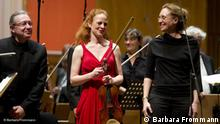 Beethovenfest 2011 Geigerin Violine Violinistin Carolin Widmann Flash-Galerie