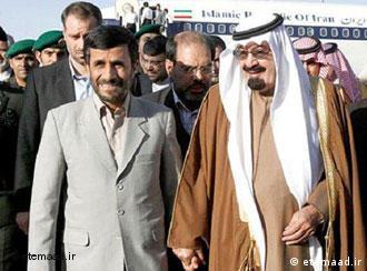 مناسبات ایران و عربستان سعودی به شدت تیره شده است. محمود احمدینژاد  در دیدار با ملک عبدالله