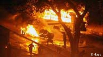 Fires rage in Cairo