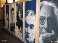 Homenagem a autores brasileiros no estande do Brasil