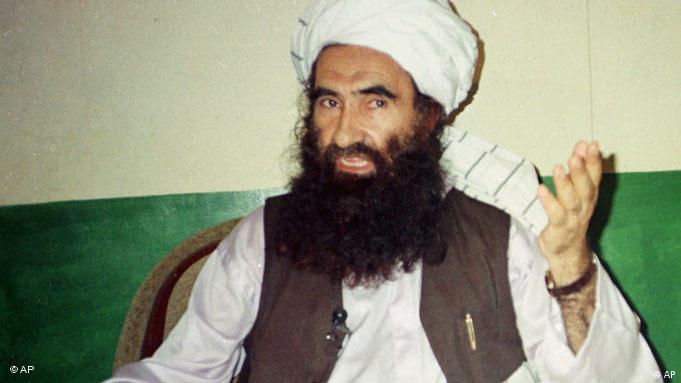 Jalaluddin Haqqani; Photo: AP Photo/Mohammed Riaz