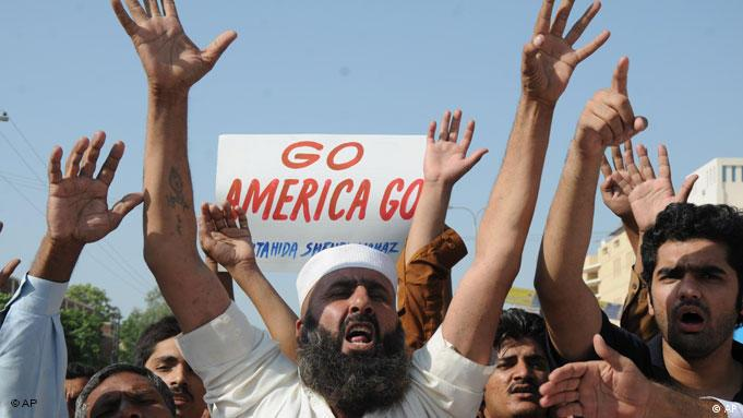 Haqqani Netzwerk Terrorismus Pakistan USA Demonstration Flash-Galerie