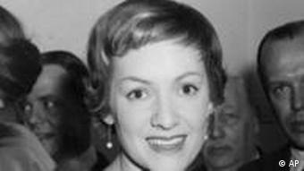 Ruth Leuwerik in Stockholm (1957)