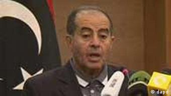 Libya's National Transitional Council Prime Minister Mahmoud Jibril confirms the death of Moammar Gadhafi