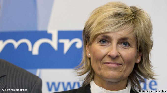 Karola Wille is the first ever director general of a state broadcaster from the former East