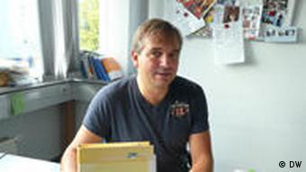 Porträt Uwe Sandvoss vom Jugendamt Dormagen (Foto: DW)