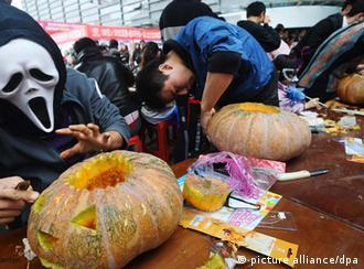 Flash-Galerie Halloween Kürbis Kürbisse Allerheiligen China
