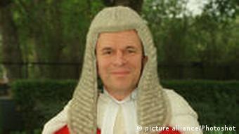 Richter Nicolas Bratza, zukünftiger Präsident des Europäischen Gerichtshofs für Menschenrecht (picture alliance/Photoshot)
