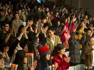 热情的中国观众