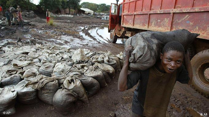 Demokratische Republik Kongo Mine Kobalt Kobaltmine