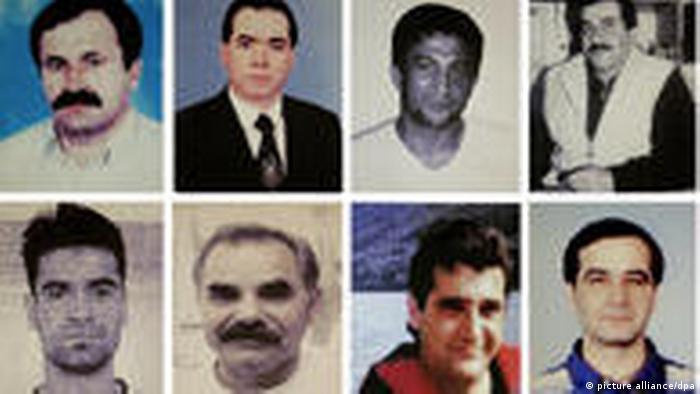 Las víctimas de los asesinatos xenófobos en Alemania.