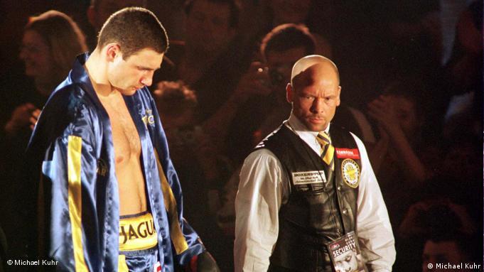 Даже чемпиону мира по боксу нужен телохранитель: Виталий Кличко и Михаэль Кур