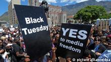 Südafrika Pressefreiheit Informationsgesetz Protest Demonstration