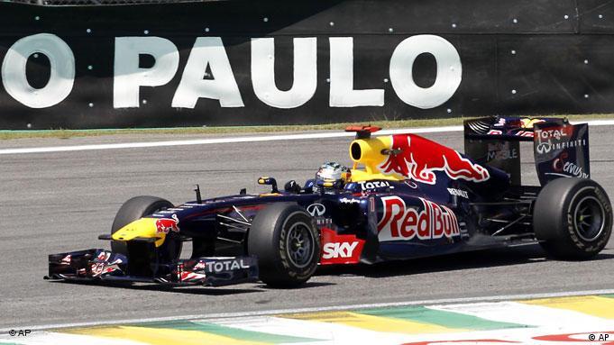 Formel 1 Sebastian Vettel Brasilien Sao Paulo