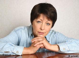 Белорусская правозащитница Людмила Грязнова