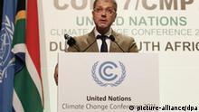Südafrika Durban Klimakonferenz 2011