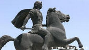 Denkmal Alexander der Große