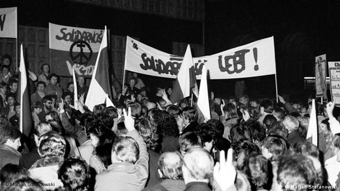 Berlin Zachodni: reakcje polskich emigrantów na wprowadzenie stanu wojennego w Polsce