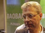 نوربرت روتگن، وزیر محیط زیست آلمان در نشست دوربان