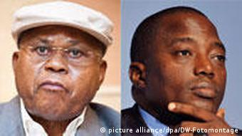 Bildkombo Etienne Tshisekedi Joseph Kabila Demokratische Republik Kongo