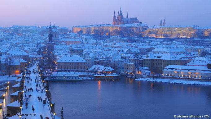 Flash-Galerei Weihnachten in Europa Prag im Winter