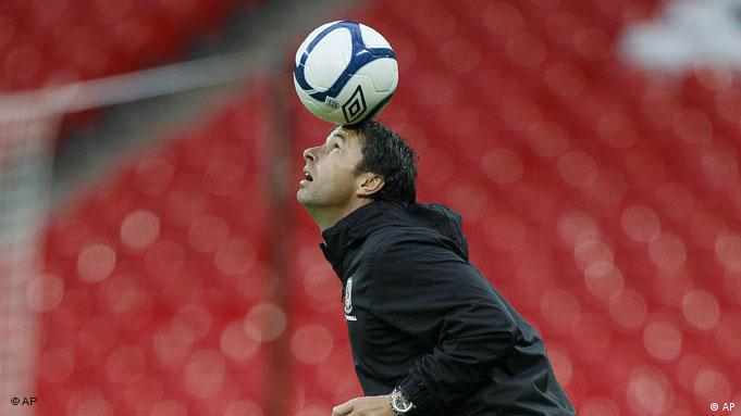 Fußball Wales Trainer Gary Speed