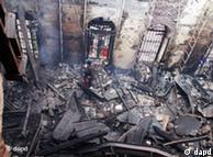آتشسوزی در موسسه علمی مصر، به صدها کتاب و نوشته تاریخی آسیب رساند