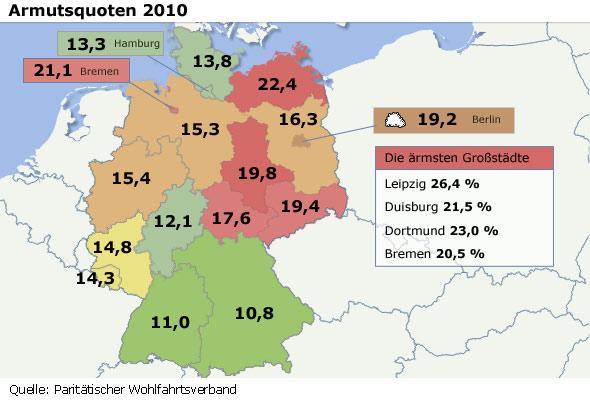 Atlas Biedy W Niemczech Najbardziej Zagrozony Dortmund Zycie W