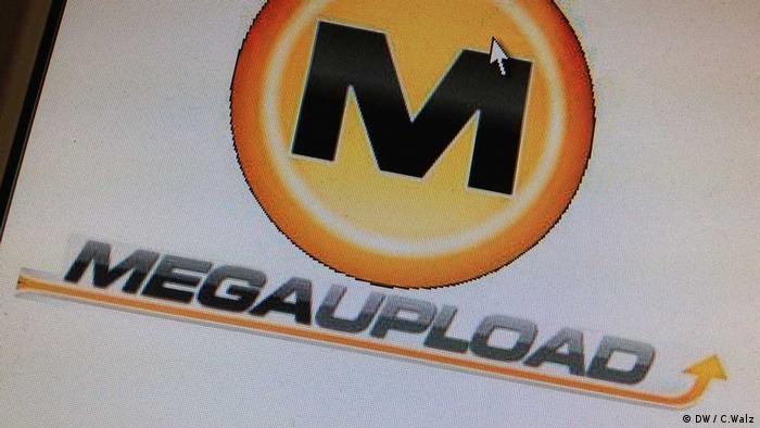 Logo des ehemaligen Internet Daten-Speicher-Anbieters Megaupload(Foto: DW)