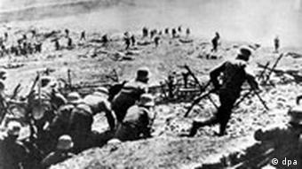 Jahrhundert Schlacht im Ersten Weltkrieg