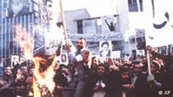 Demonstration im Jahr 1979