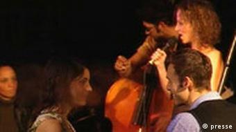A Trane Band Alexander Berlin Beshert Film Szenenfoto