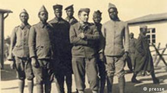 Französische Kriegsgefangene im Stalag III A, Luckenwalde