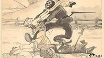 Plakat: Ausstellung Besonderes Kennzeichen Neger. Schwarze im NS-Staat