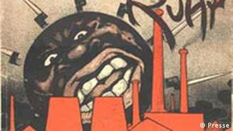 Plakat: Ausstellung Besonderes Kennzeichen Neger. Schwarze im NS-Staat.