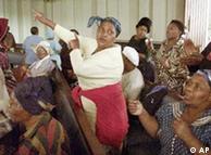 Südafrikanische Frauen kämpfen gemeinsam um Entschädigung