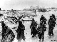 Prisioneiros de guerra alemães em Stalingrado